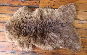 Hebridean sheepskin rug