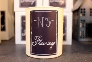 No. 5 Flamingo Scented Candle