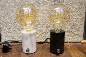 Orb Lamp with Dimmer