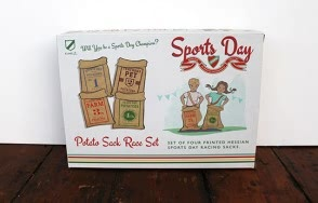 Sports day potato race sack set