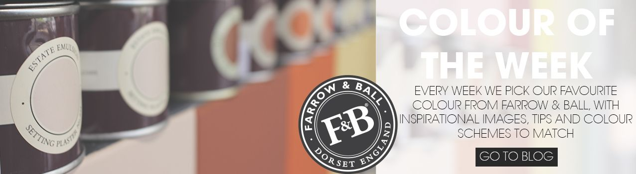 Take inspiration from our weekly dose of Farrow and Ball colour inspiration