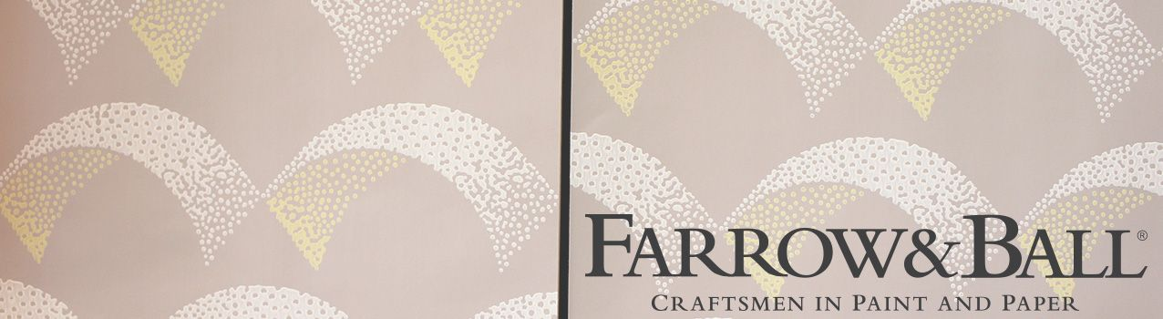 Update your walls this week with our Farrow & Ball range of paint and wallpaper