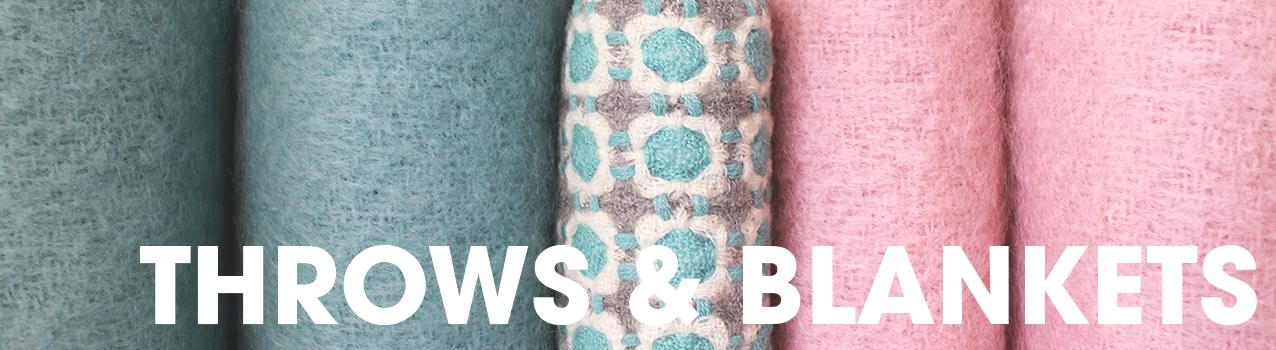add a bit of comfort to your home with our range of throws and blankets