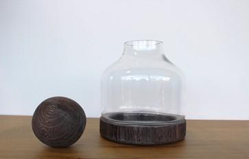 Glass Dome and Ball