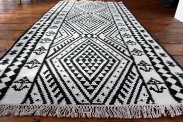Secret Black & White Rug