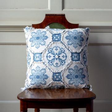 Delft Design Fringed Cushion