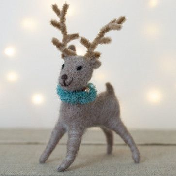 Festive Reindeer Decoration