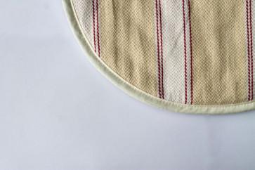 Aga Chef Pad - Pink Utility Stripe