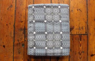 Melin Tregwynt knot garden bluestone blanket