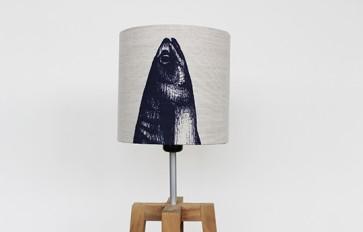 Mackerel Parade lamp shade