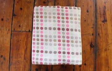 Melin Tregwynt mondo rose double cloth