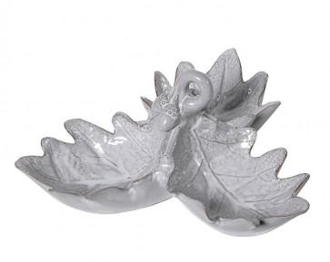 Oak Leaf Dish - Grey