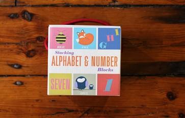 Stacking Alphabet & Number Blocks