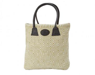 Plain Woven Bag in Gooseberry