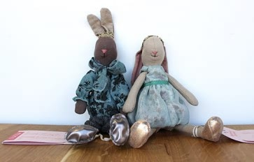 Prince and Princess Juliette Bunny