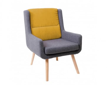 Pye Lounge low back armchair