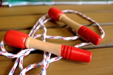 Wooden Skipping Rope