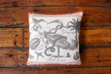 South American Square Cushion