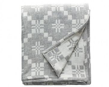 St Davids Cross Blanket Silver