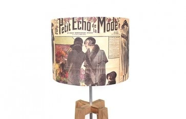 Le Journal lamp shade
