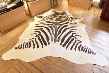 Cow hide Zebra print
