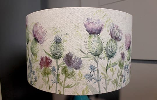 Glen Thistle Lamp Shade In Heather Warings Store