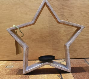 Tindra Star Tealight