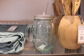 Lidded Drinking Jar