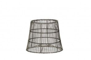Wire Nickel Lampshade