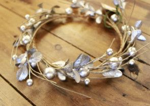 Silver Berry Wreath