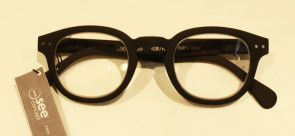 #C LetMeSee Black Reading glasses