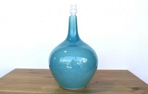 Aqua cermaic lamp