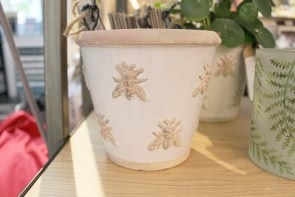 Bee Bone Cache Pot