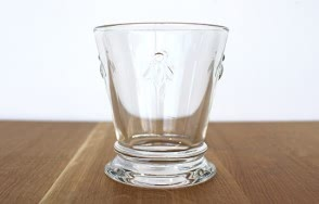 Glass bee short tumbler