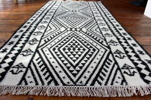 Secret Black & White Rug