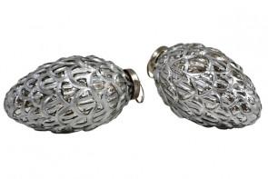 Fir Cone - Antique Silver
