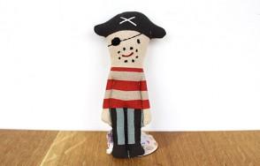 Captain pirate rattle