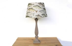 Douglas lamp with shoal shade