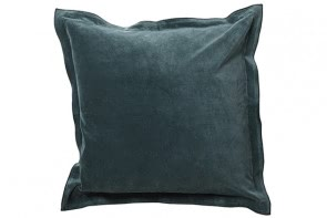 Velvet Cushion in Green