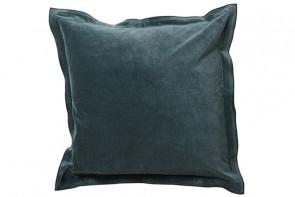 Velvet Cushion in Green
