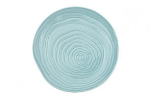 Pillivuyt Teak Plate in Ice Blue
