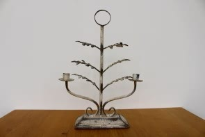 Leaf Design Twin Candelabra