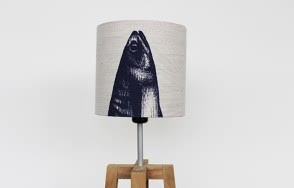 Mackerel Parade lamp shade