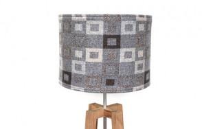 Madison grey lamp shade