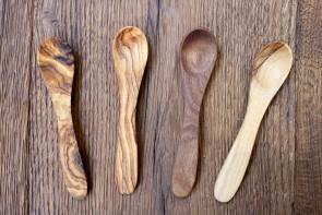 Olivewood Mustard Spoon