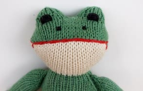 Naked Frog Toy
