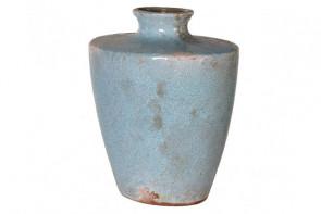 Lunar Vase - Rustic Blue