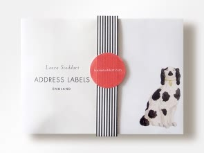Odd Dog Address Labels