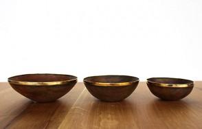 Ox horn bowls