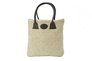 Plain Woven Bag in Gooseberry
